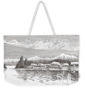 Columbia River Raft Up Weekender Tote Bag
