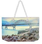 Columbia River Vantage Bridge Weekender Tote Bag