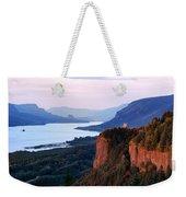 Columbia River Vista House Weekender Tote Bag