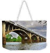 Columbia S C Gervais Street Bridge Weekender Tote Bag