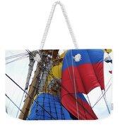 Columbian Mast Weekender Tote Bag