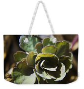 Columbine Foliage Weekender Tote Bag
