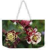 Columbine In Spring Weekender Tote Bag