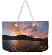 Columbine Lake Sunset - Weminuche Wilderness - Colorado Weekender Tote Bag