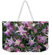 Columbine Splendor Weekender Tote Bag
