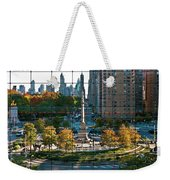Columbus Circle Weekender Tote Bag by S Paul Sahm