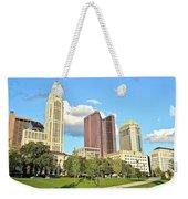 Columbus From The Park Weekender Tote Bag