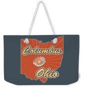 Columbus Ohio Weekender Tote Bag