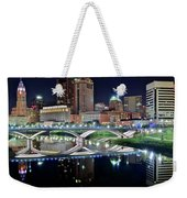 Columbus Over The Scioto Weekender Tote Bag