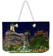 Columbus Park Boston View Weekender Tote Bag
