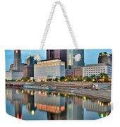Columbus Squared Weekender Tote Bag