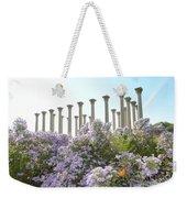 Column Flowers To The Sky Weekender Tote Bag