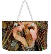 Columned Stinkhorn Mushroom - Outer Banks Nc Weekender Tote Bag