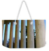 Columns At Jefferson Weekender Tote Bag by Megan Cohen