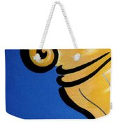 Columns Left Side Weekender Tote Bag