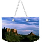 Colurt House Butte And Bell Rock Weekender Tote Bag