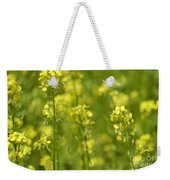 Colza Weekender Tote Bag by Issabild -