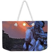 Comanche Spirit Weekender Tote Bag