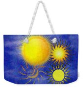 Combating Suns Weekender Tote Bag