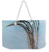 Combie Lake Reeds Weekender Tote Bag