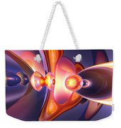 Combustion Abstract Weekender Tote Bag