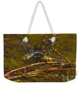 Come Along With Me Dragonflies Weekender Tote Bag