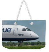 Come Fly With Blue Weekender Tote Bag