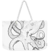 Come Let Me Give You A Hug Octopus Drawing Weekender Tote Bag