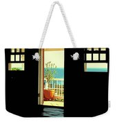 Come Over To The Light Side Weekender Tote Bag
