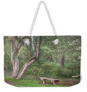 Come Sit With Me Awhile Weekender Tote Bag