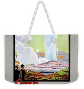 Come To New Zealand Vintage Travel Poster Weekender Tote Bag