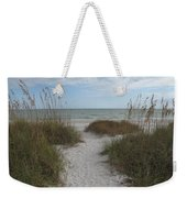 Come To The Beach Weekender Tote Bag