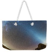 Comet Lovejoy And Zodiacal Light Weekender Tote Bag