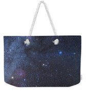 Comet Lovejoy In The Winter Sky Weekender Tote Bag