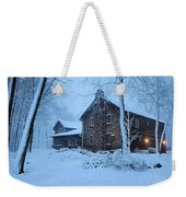 Comfort From The Cold Weekender Tote Bag
