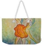 Comic Ballet Weekender Tote Bag