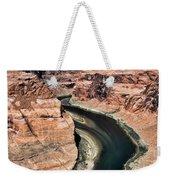 Coming Around Horseshoe Bend Page Arizona Colorado River  Weekender Tote Bag