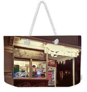 Coming Street Night Life Weekender Tote Bag