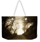 Coming Up The Drive 3 Weekender Tote Bag