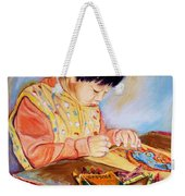 Commission Portraits Your Child Weekender Tote Bag