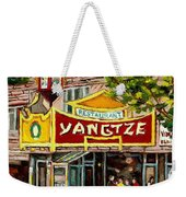 Commissioned Building Portraits By Carole Spandau Classically Trained Artist  Weekender Tote Bag