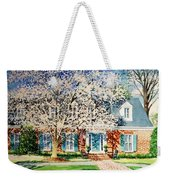 Commissioned House Portrait  Weekender Tote Bag