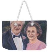 Commissioned Portrait Painting Weekender Tote Bag