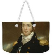 Commodore Oliver Hazard Perry Weekender Tote Bag