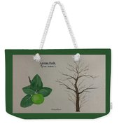 Common Apple Tree Id Weekender Tote Bag