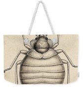 Common Bedbug, Cimex Lectularius Weekender Tote Bag