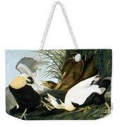 Common Eider, Eider Duck Weekender Tote Bag