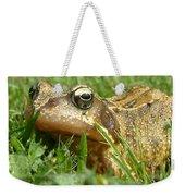 Common Frog Rana Temporaria Weekender Tote Bag
