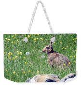 Common Hare Weekender Tote Bag