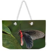 Common Rose Butterfly Weekender Tote Bag